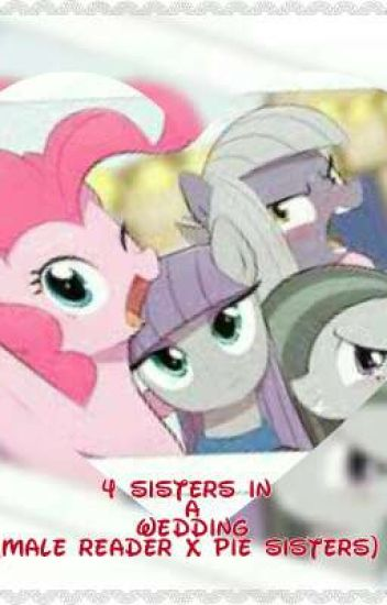4 Sisters In A Wedding (Male reader x Pie Sisters)