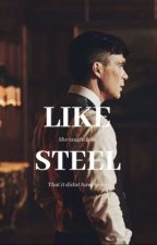 LIKE STEEL || Tommy Shelby  by -ohmymy