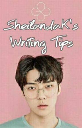 SheilandaK's Writing Tips by SheilandaK