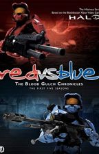 red vs blue(w/OC): The Blood Gulch Chronicles by theunitedburgers