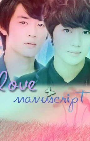 LOVE MANUSCRIPT by Tetemphantomhive