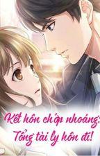 Kết hôn chớp nhoáng- Tổng tài ly hôn đi by vuvuvu8008