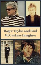 Roger Taylor and Paul McCartney Imagines by WhitePlusBlack