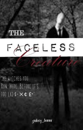 The Faceless Creature   Slender man by galaxy_bunni
