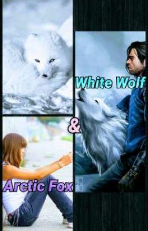 White Wolf and Arctic Fox by HalfMiralukanJedi