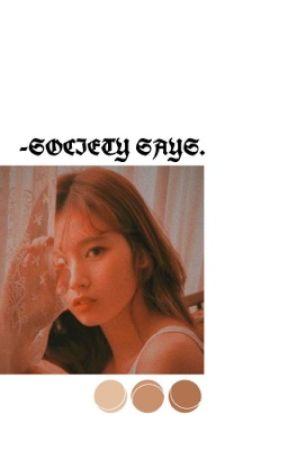 society says | nct by ohmyjiminlove