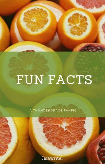 Fun Facts  (Black Lightning ThunderGrace fanfic)