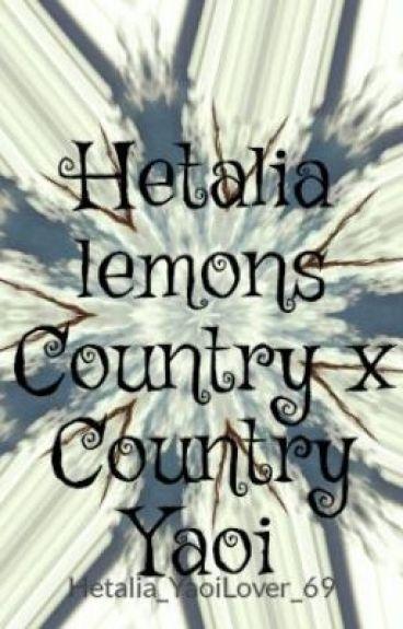 Hetalia lemons Country x Country Yaoi