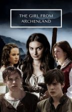 the girl from archenland | narnia by TheStardustWarrior