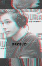 Monsters {Luke Hemmings} by 96hemmx
