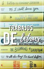 Trabajos de letras by EditorialThreeColors