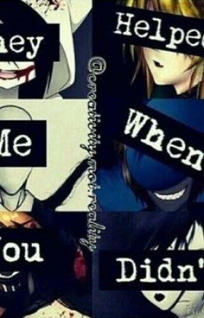 Turning Creepypasta's into normal people by queenemily101_real1