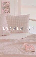 escalator; wjh + xmh [junhao] by xuexchu