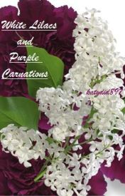 White Lilacs and Purple Carnations by katydid897