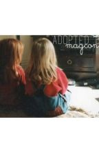 adopted by magcon. | c.d : n.g by autvhqh