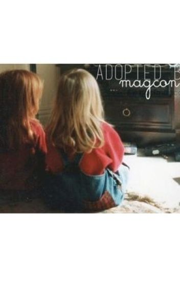 adopted by magcon. | c.d : n.g