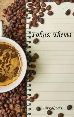 fokus:thema | Schreiben, mal anders! by WPKaffeehaus