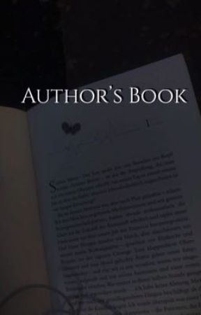 Author's book  by lipzx-