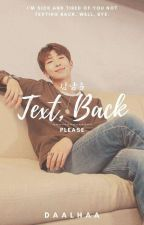 Text Back, Please 김남준√ by Daalhaa