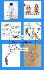 Mes Dessins Et Leurs Modèles by marilou010405