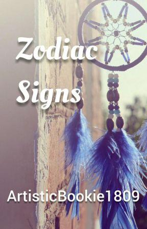 Zodiac Signs by ArtisticBookie1809