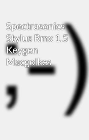 stylus rmx keygen