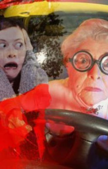 I kidnapped an old lady! by ifreakinlovedinos