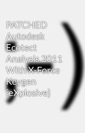 autodesk ecotect analysis 2011 with x-force keygen