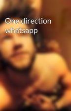 One direction whatsapp by niallnouislouis