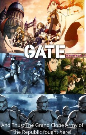 A New World: (Gate X Male Clone Reader X Star Wars X Monster Musume) by 187thlegion