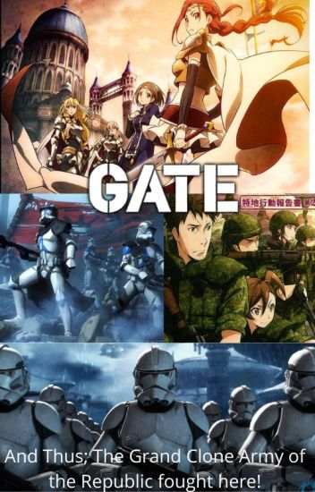 A New World: (Gate X Male Clone Reader X Star Wars X Monster Musume)