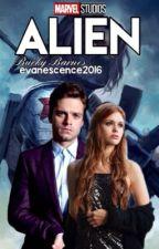 ALIEN ↠ Bucky Barnes by evanescence2016