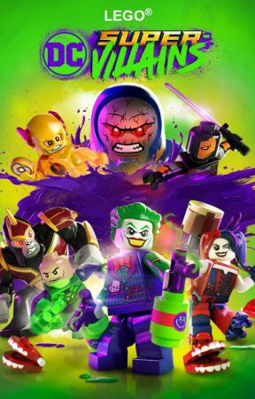 Legos DC Super Villains/// Reader Insert/// by ToniTurtleAngel