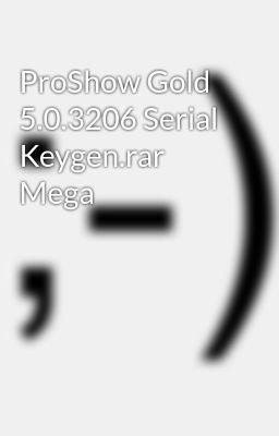 PROSHOW GOLD 5.0.3276 TÉLÉCHARGER