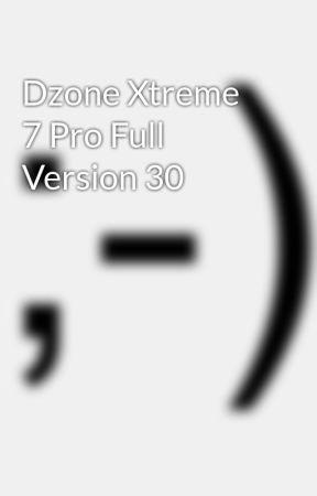 dzone xtreme 8 pro + keygen full