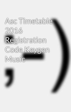 Asc Time Table