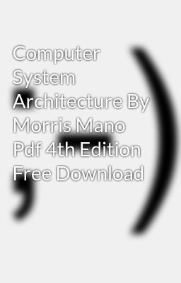Dld Book By Morris Mano Pdf