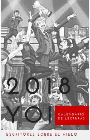 2018 YOI - Calendario de lecturas by Escritoresonice