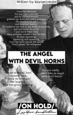 The angel with devil horns by kiaraecreate