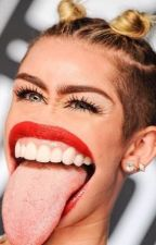 The Tongue..| Miley Cyrus x Reader x Mattress One shot by FiftyShadesOfMattres