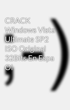 windows vista ultimate sp2 iso download