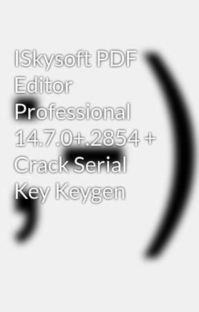 crack iskysoft pdf editor