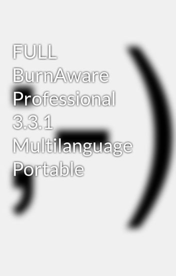 portable burnaware professional