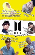 BTS  in memes 3 by horsiehobii