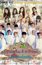 The 9 Princesses & The 12 Princes in Magicalandia (EXOSHIDAE) by SeoLynn13