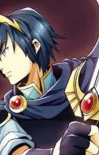 Scared (Marth X Horror Game! Reader) by hollyscorch