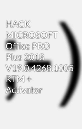 microsoft office hack 2018