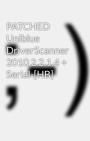 uniblue driverscanner 2015 activation key