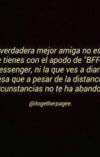 Amigos y después lo demás by Negro4rosa