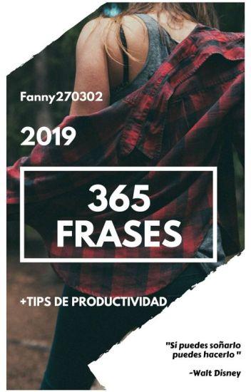 365 Frases 2019 Estefanía Carrasco Wattpad